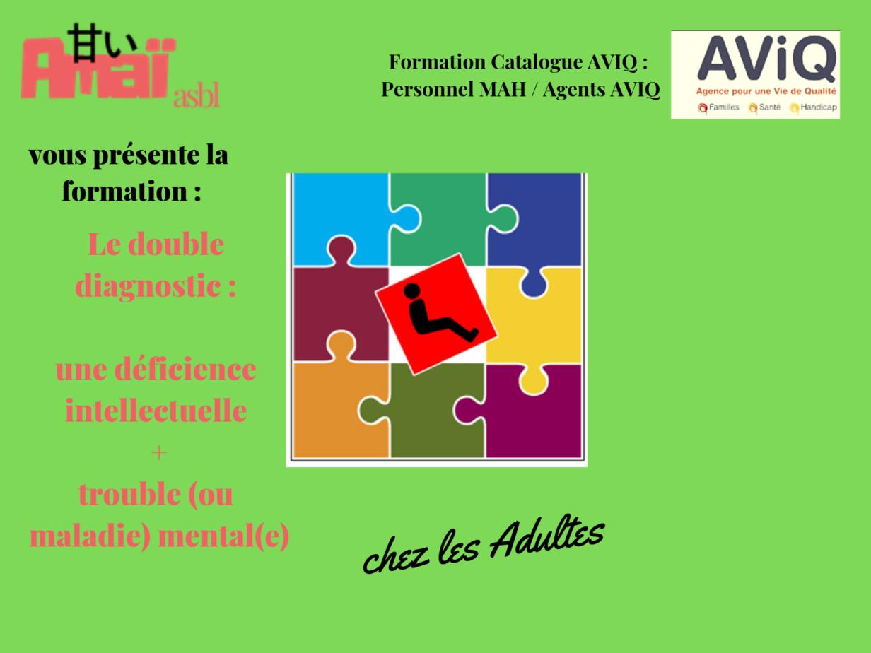 Double diagnostic Adultes 2019 (AVIQ)