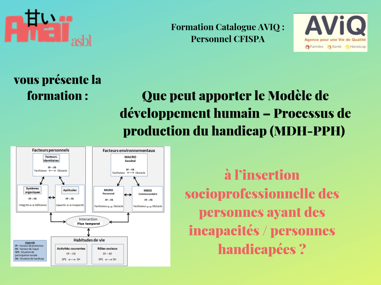 Cover Formation Modèle MDH PPH