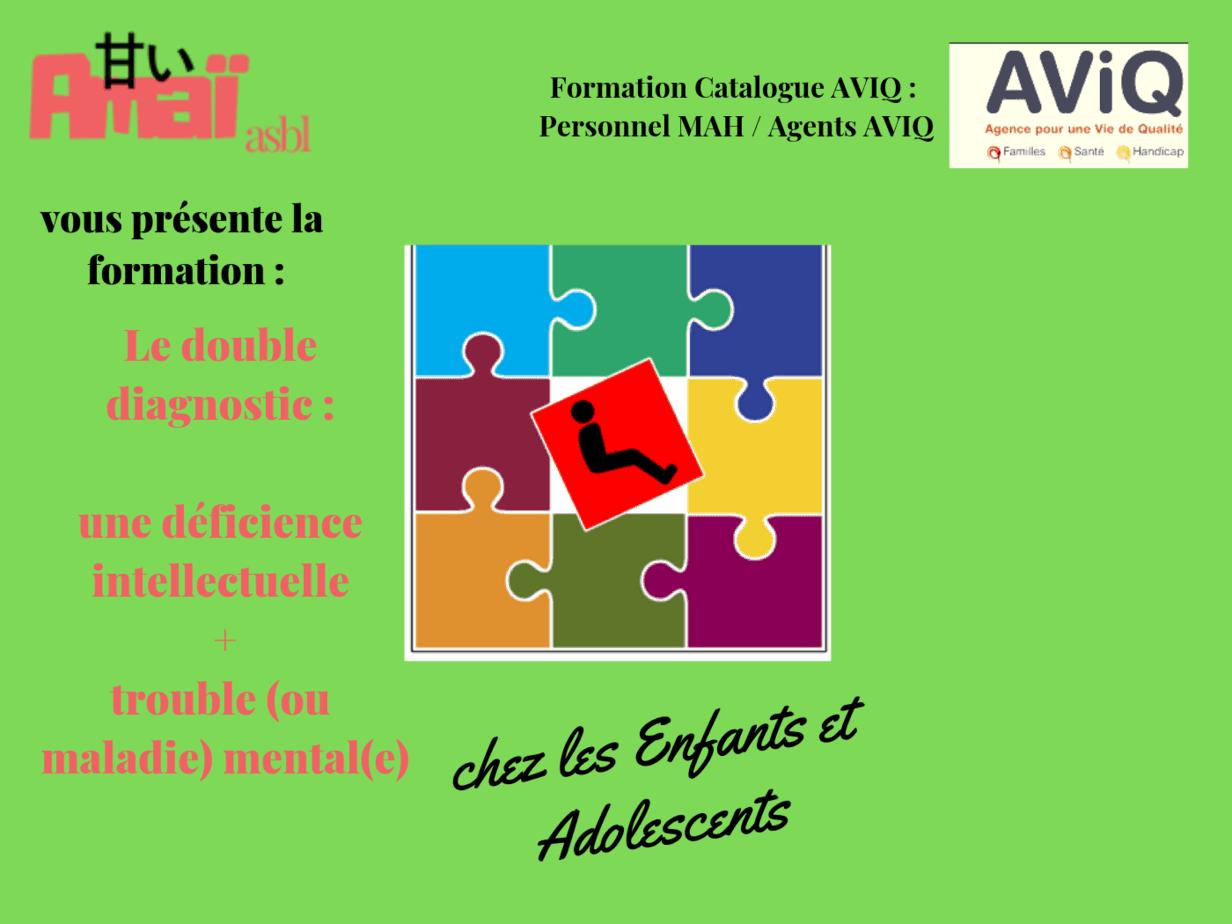 Double diagnostic Enfants & Ados 2020 (AVIQ)